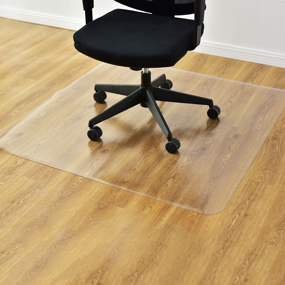 New 48  x 48   PVC Office Chair Floor Mat Home Protector For Hard Wood Floors & New 48